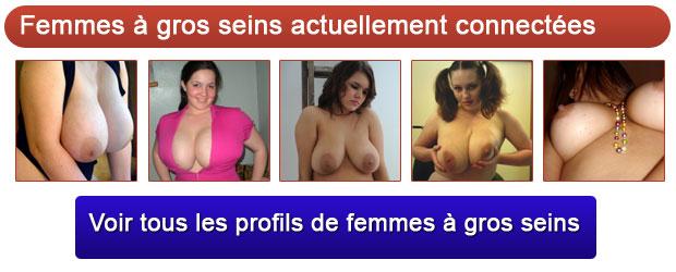 femmes � gros seins actuellement connect�es